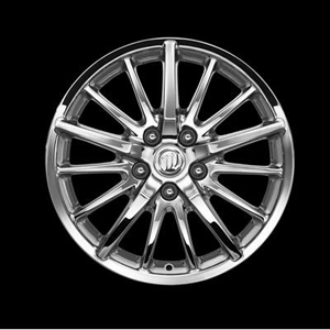 2007 Buick LaCrosse 17 inch Wheels - 15-Spoke Chrome 17801467