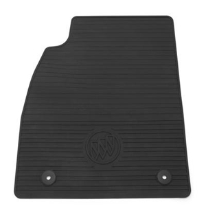 2014 Buick LaCrosse All Weather Floor Mats - Black 23101701