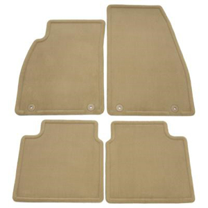2013 Buick LaCrosse Floor Mats - Front and Rear Molded Carpet, Cashmere