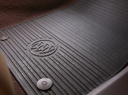 2015 Buick LaCrosse All Weather Floor Mats - Cocoa 23444139